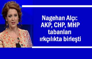 Nagehan Alçı: 3 Partinin tabanları ırkçılıkta...