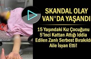Van'da 15 Yaşındaki Kız Çocuğu Yaşam Savaşı...