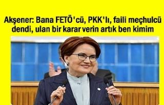Akşener'den HDP yanıtı: Bana FETÖ'cü,...