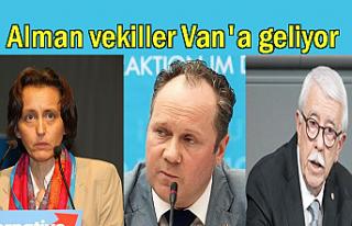 Alman vekiller Afganlı göçmenler için Van'a...