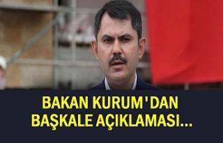 Bakan Kurum: Van'da 26 vatandaşımız selden...