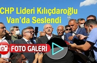 CHP Lideri Kılıçdaroğlu Van'da Sel Bölgesinden...