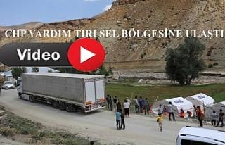 CHP Yardım Tırı Başkale'ye Ulaştı
