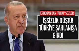 """Erdoğan'dan açıklama: """"İşsizlik düştü,..."""
