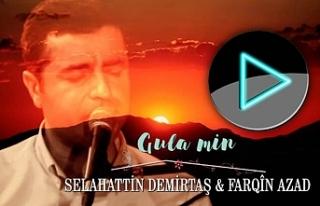 Farqîn Azad Demirtaş'ın 'Gula Min' eserini...