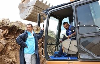 Genel Müdürü, İspiris Dağı'ndaki çalışmaları...