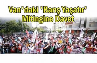 HDP'den 'Barış Yaşatır' Mitingine...