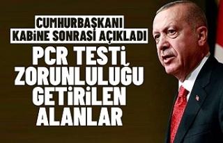 Kabine Toplantısı sonrası Erdoğan: Konser, Tiyatro...