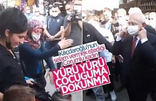 Kılıçdaroğlu'na 'çocuğuma dokunma'...