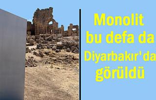 Monolit bu defa da Diyarbakır'da görüldü