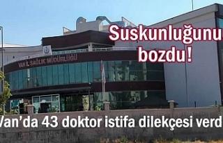 Sağlık İl Müdürü Suskunluğunu Bozdu: 43 doktor...