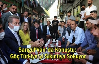 Sarıgül Van'da Konuştu: Göç Türkiye'yi...