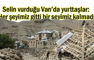 Selin vurduğu Van Esenyamaç'ta: Yurttaşlar...