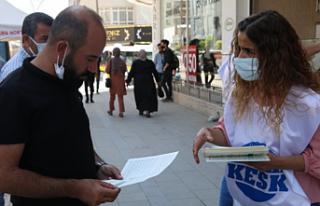 """SES Van Şubesi, """"Tedirgin olma aşı ol"""" kampanyası"""