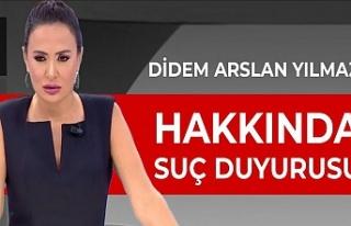 Van Barosu, Didem Arslan Yılmaz'a suç duyurusunda...