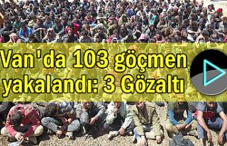 Van'da 103 göçmen yakalandı: 3 Gözaltı