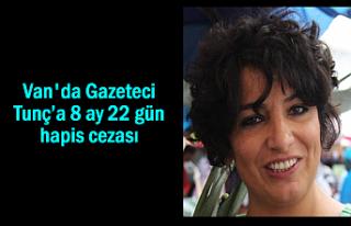 Van'da Gazeteci Hikmet Tunc'a 9 ay hapis cezası
