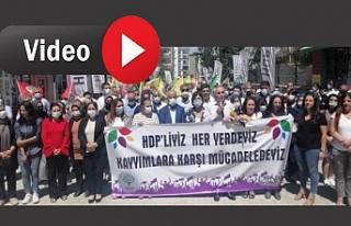 Van'da Kayyum Protestosu: Halkın iradesine diz...