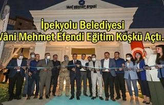 Van'da Vâni Mehmet Efendi Eğitim Köşkü Açıldı