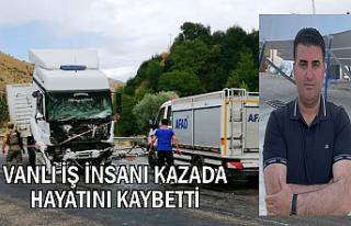 Van-Tatvan Karayolunda TIR ile kamyonet çarpıştı:...