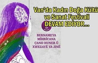 Van'da Kadın Doğa Kültür ve Sanat Festivali
