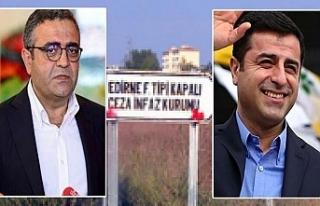 CHP'li Tanrıkulu Selahattin Demirtaşı Cezaevinde...