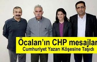 Cumhuriyet yazarı Barış Pehlivan : Öcalan'ın...