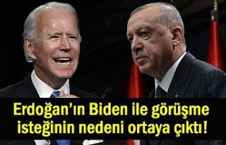 Erdoğan'ın Biden ile neden görüşmek istiyor!...