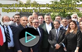 Esenyurt Belediye Başkanı Gevaş ve Başkale'yi...