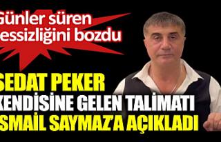 Sedat Peker, Saymaz'ın sorularını yanıtladı