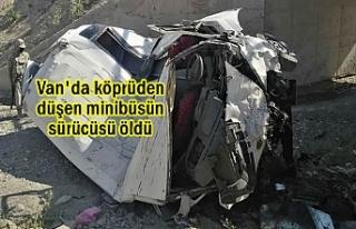 Van'da Kaza: 1 Ölü