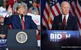 ABD Seçimlerinde Biden Bir Adım Önde...