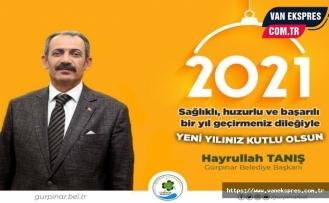 Başkan Tanış'tan yeni yıl mesajı