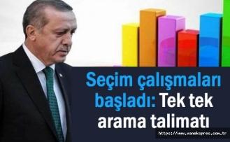 AKP'de seçim çalışmaları başladı: Tek tek arama talimatı