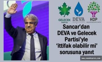 HDP'den DEVA ve Gelecek Partisi'yle 'ittifak olabilir mi' sorusuna yanıt