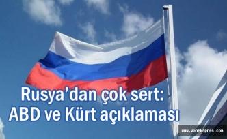 Rusya'dan ABD ve Kürt Çıkışı