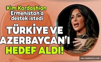 Kim Kardashian'dan Ermenistan'a destek açıklaması