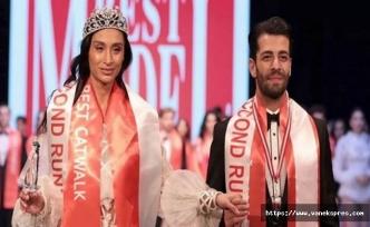 Hakkarili Özcanan Best Model Türkiye yarışmasında 3. oldu