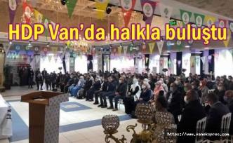 HDP Van'da halk buluşması gerçekleştirdi