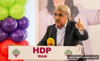 "HDP'li Sancar ""Esas hesap bütün muhalefeti sindirmek"""