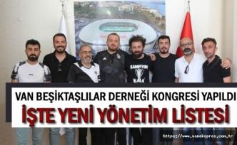 Van Beşiktaşlılar Derneği Kongresi Yapıldı
