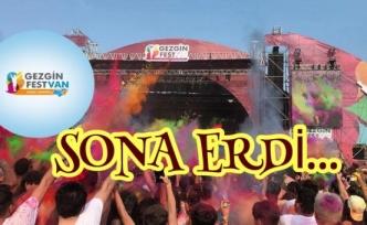 Gezginfest Van' Sona Erdi