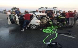 Sahil Yolu'nda Trafik Kazası: 2 Ölü, 6 Yaralı