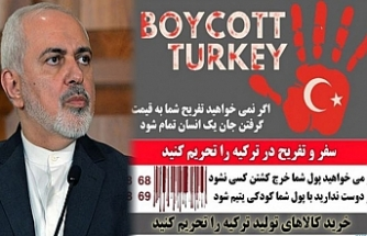 Komşu İran'dan Türk mallarına boykot çağrısı