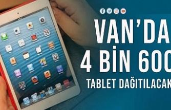 Van'da Milli Eğitim 4 bin 600 Tablet Dağıtacak