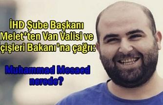 İHD Başkanı Melet'ten Van Valisi ve İçişleri Bakanı'na çağrı