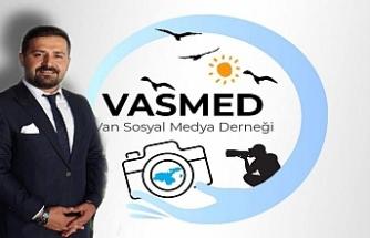 Van sosyal medya derneğinin yeni başkanı Elasan oldu