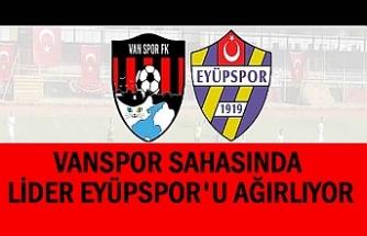 Vanspor 2. Lig Kırmızı Grup Liderini Ağırlıyor