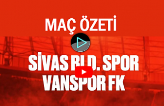 Vanspor FK Sivas'ı yendi | Maç Özeti