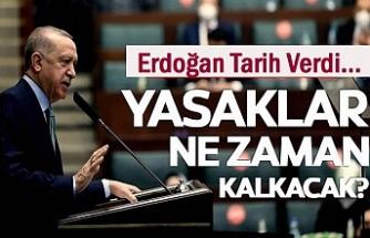 Yasaklar Ne Zaman Kalkacak Erdoğan Tarih Verdi